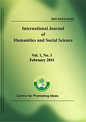 International Journal of Humanities and Social Science